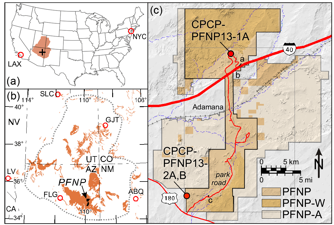 SD - Colorado Plateau Coring Project, Phase I (CPCP-I): a
